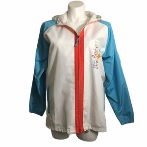 La Pagayo Holland full zip windbreaker. Large